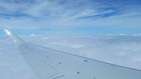 Airplane  wing  airline video