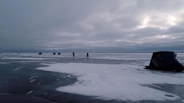 Ice fishing  ice  fishing video