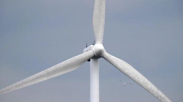 Wind turbine  wind energy  wind mill video