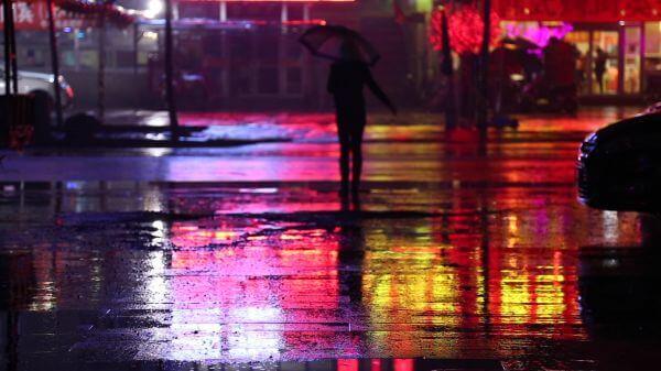 Rainy day  rain  night video