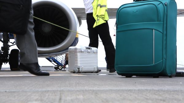 Tarmac  airport  turbine video