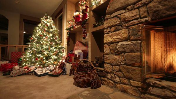 Happy new year  christmas  christmas tree