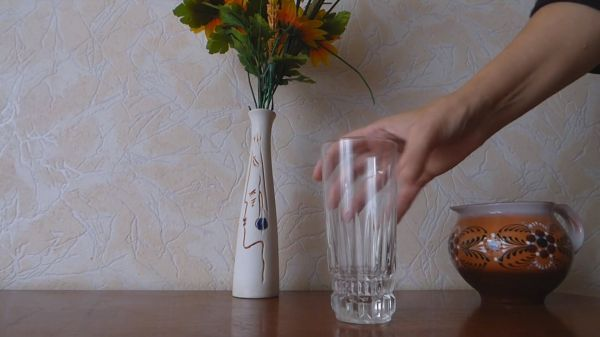 Cup  glass  empty glass video