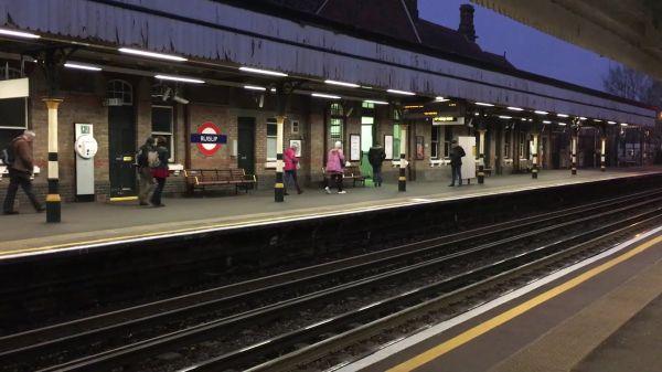 Underground  train  london video