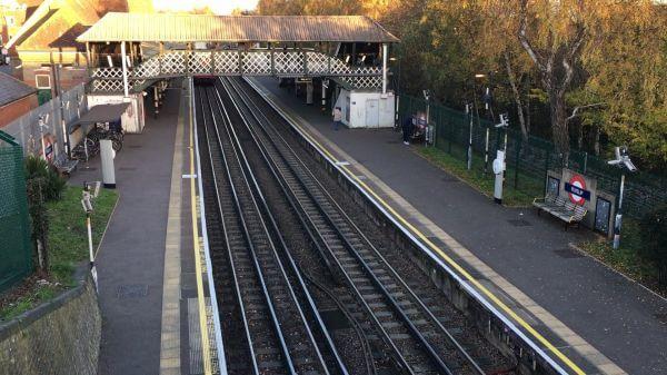 Underground  train  london video