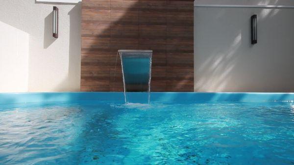 Water  pool  waterfall video