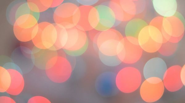 Bokeh  light  lights video