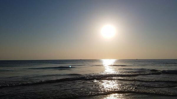 Sea  morning  beach video