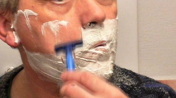 Beard  mustache  face video