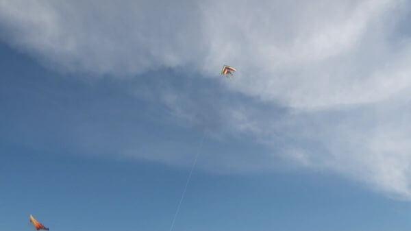 Kite  wind  fun video