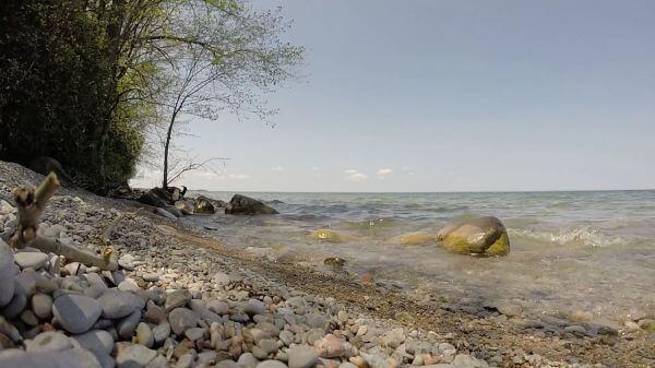 Water  lake  ontario video