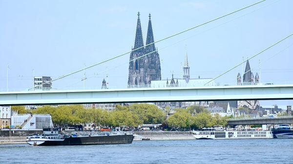 Time lapse  cologne  dom video