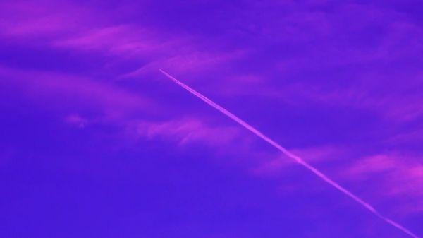 Clouds  jet  plane video