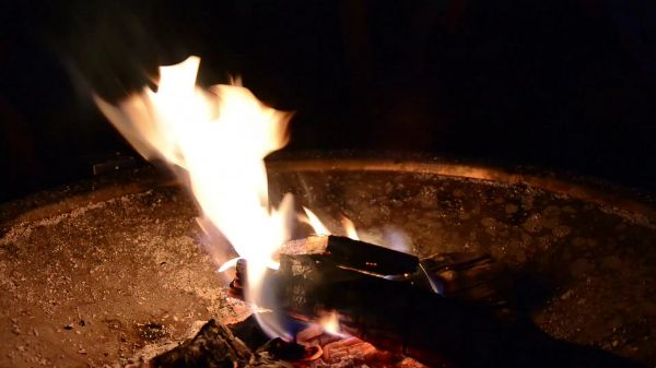 Fire  fire bowl  flame video