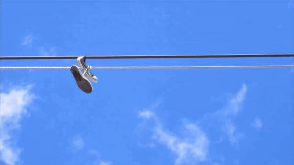 Shoe  blue sky  sunny video