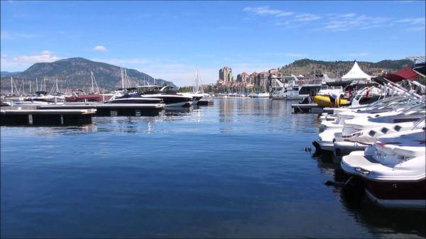 Marina  lake  boats video