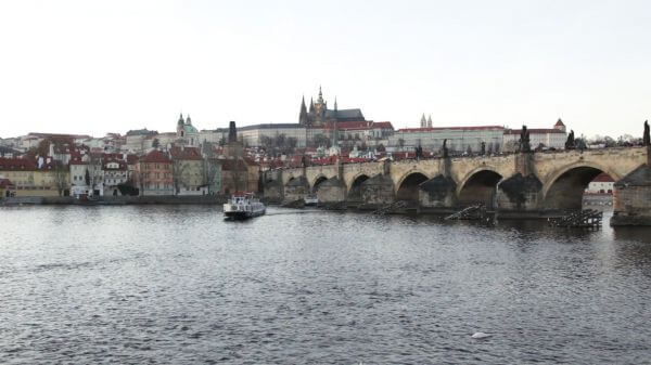 Prague  castle  czech video
