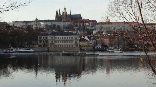 Czech republic  castle  prague video