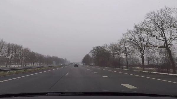 Freeway  highway  traffic video