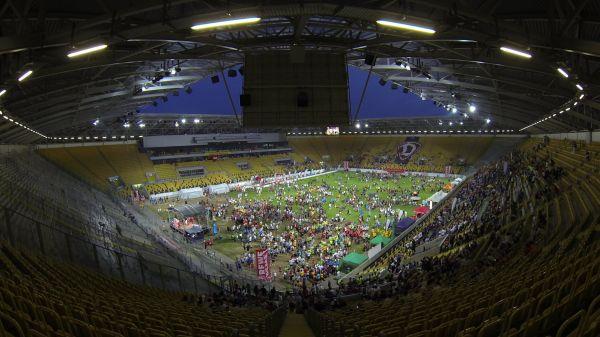 Stadium  sport  running event video