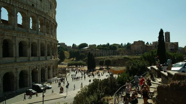 Colosseum  rome  arena video