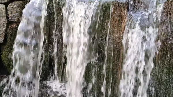 Ponds case  waterfall  water video
