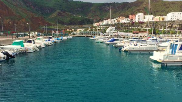 Yacht  sea  port video