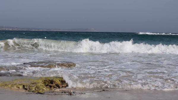 Sea  waves  nature video