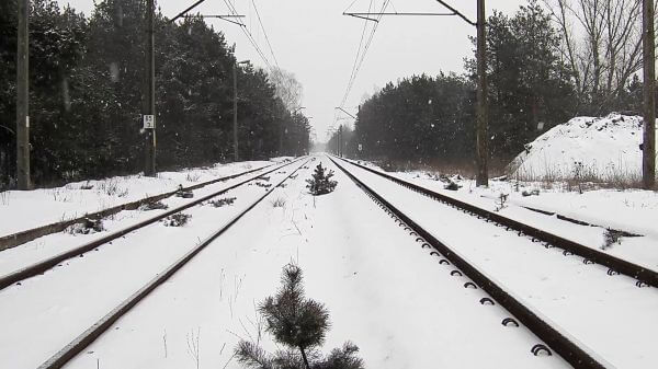 Tracks  snow  winter video