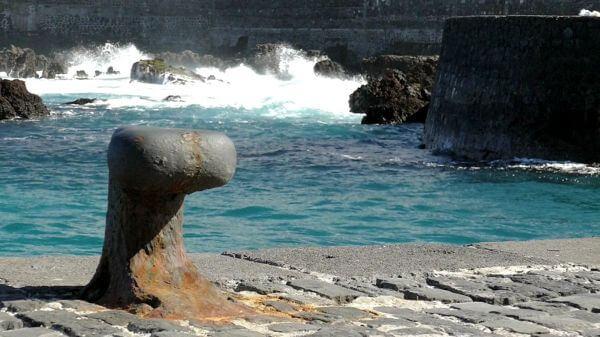 Pier  port  water video