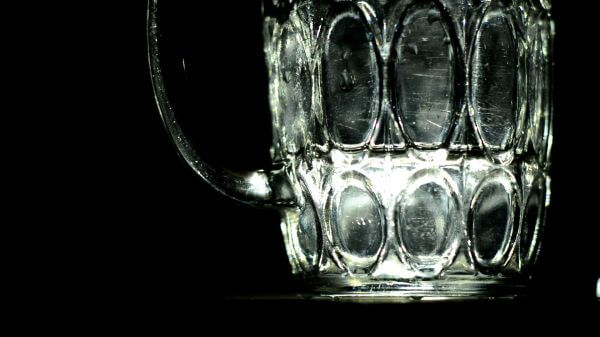 Glass  water  dark video