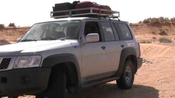 Sahara  rally  desert video