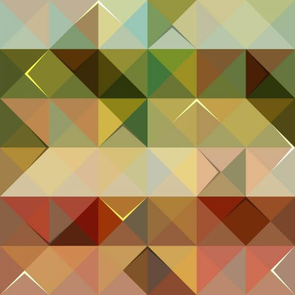 Colorful Triangle Pattern vector