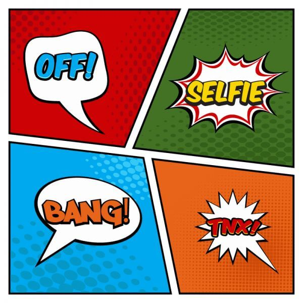 Comic Book Page vector