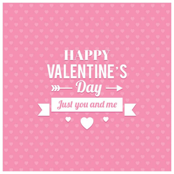 Happy Valentine's Day Illustration vector