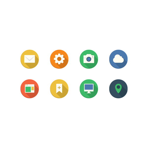 Filo Icons - Mini Set 2 vector