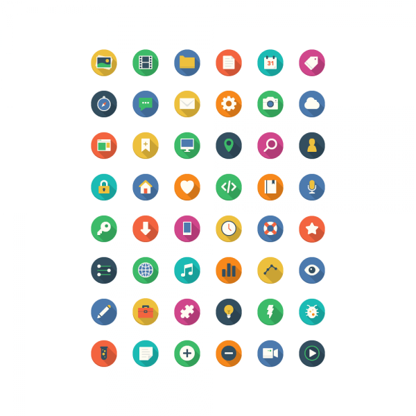 Filo Icons - Full Set vector