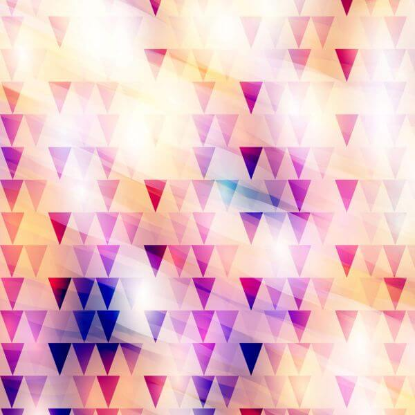 Abstract modern background design with triangles vector