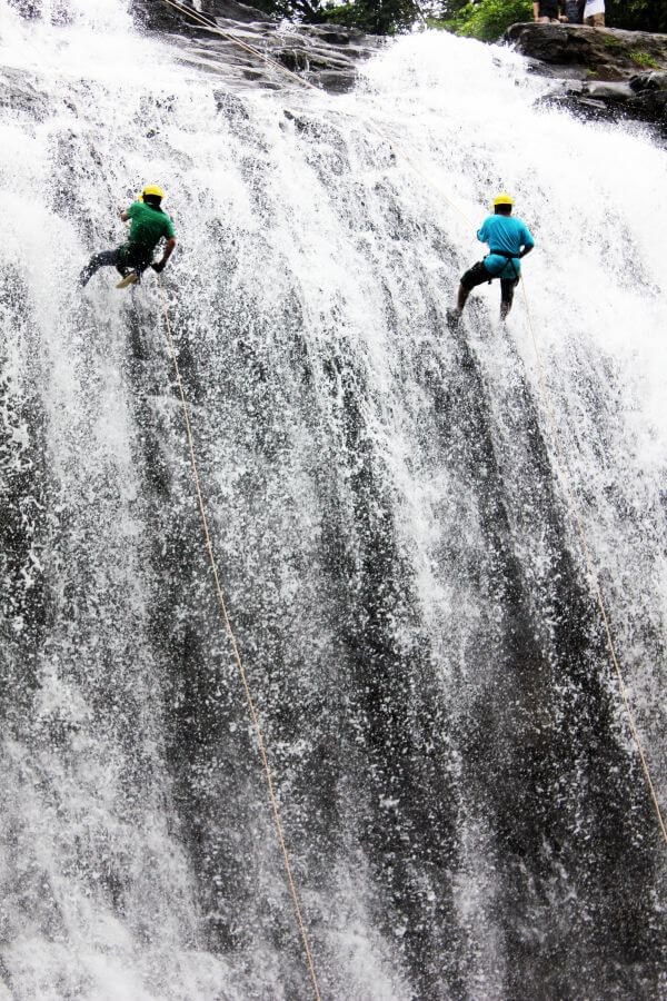 Adventure Sports Waterfall Rappelling photo