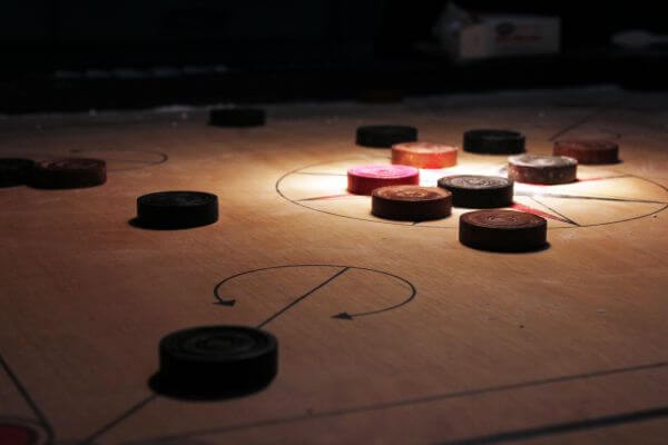 Carrom Board Coins photo