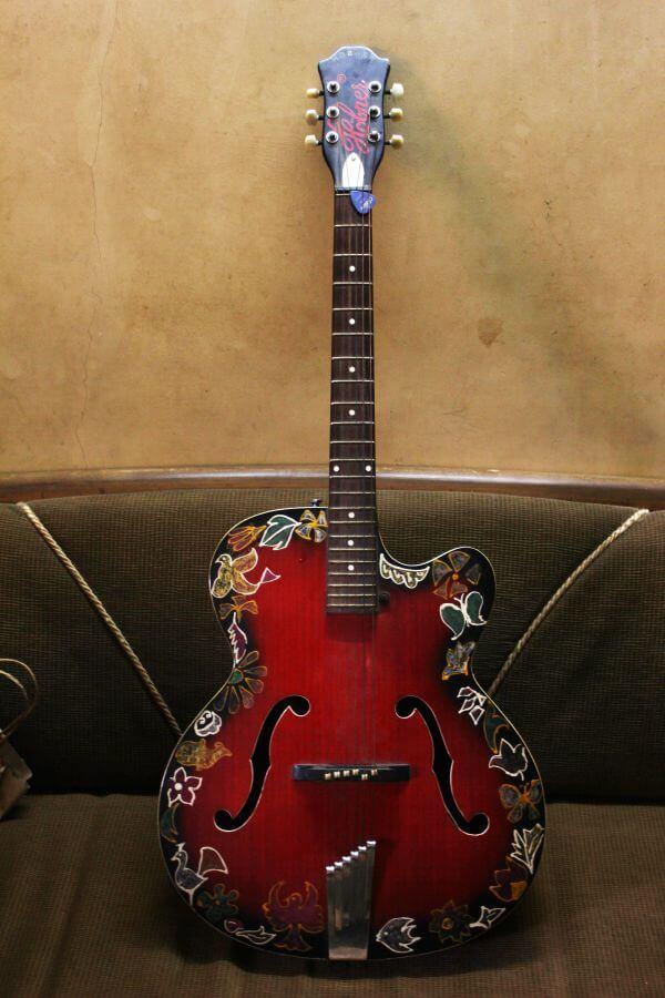 Guitar On Wall photo