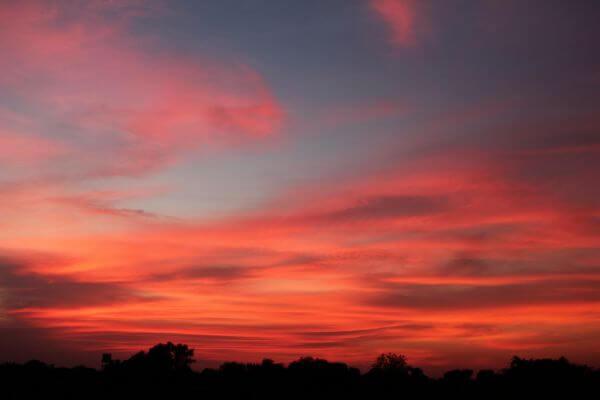 Orange Sky Sunset photo