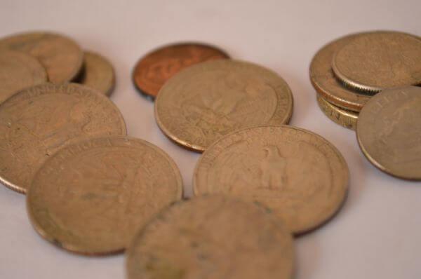 Coins In A Heap photo