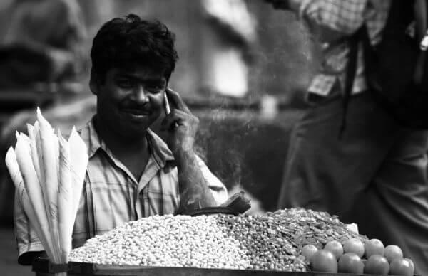 Roadside Vendor India photo