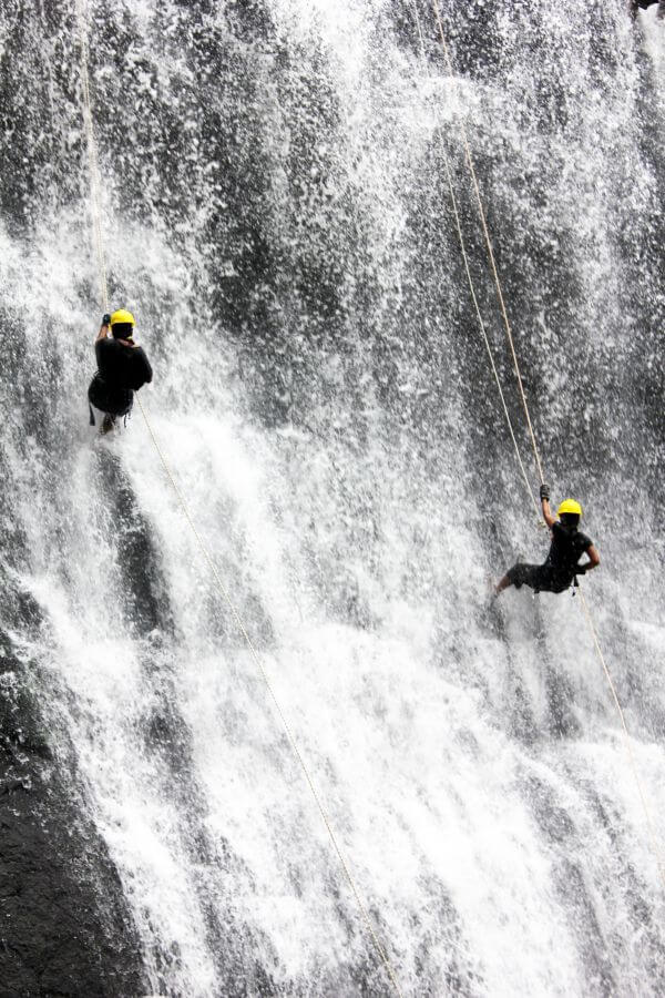 Waterfall Rappelling Adventure photo