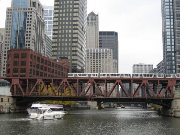 Chicago Lake Street Bridge photo