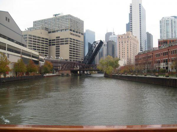 Chicago River Bridges photo