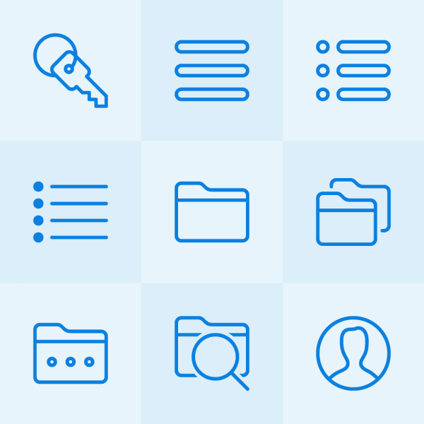 Lynny Icons - Mini Set 10 vector