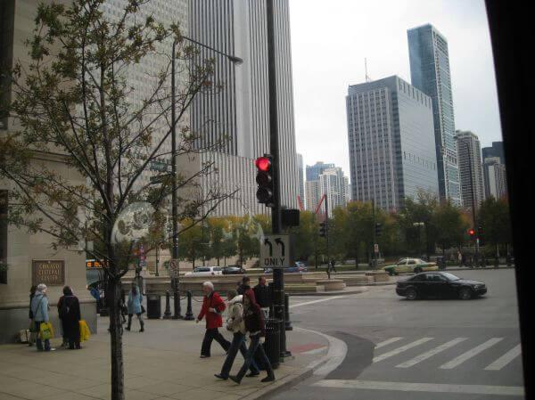 People Walking Street Usa photo