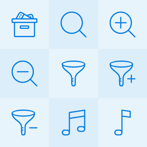 Lynny Icons - Mini Set 6 vector